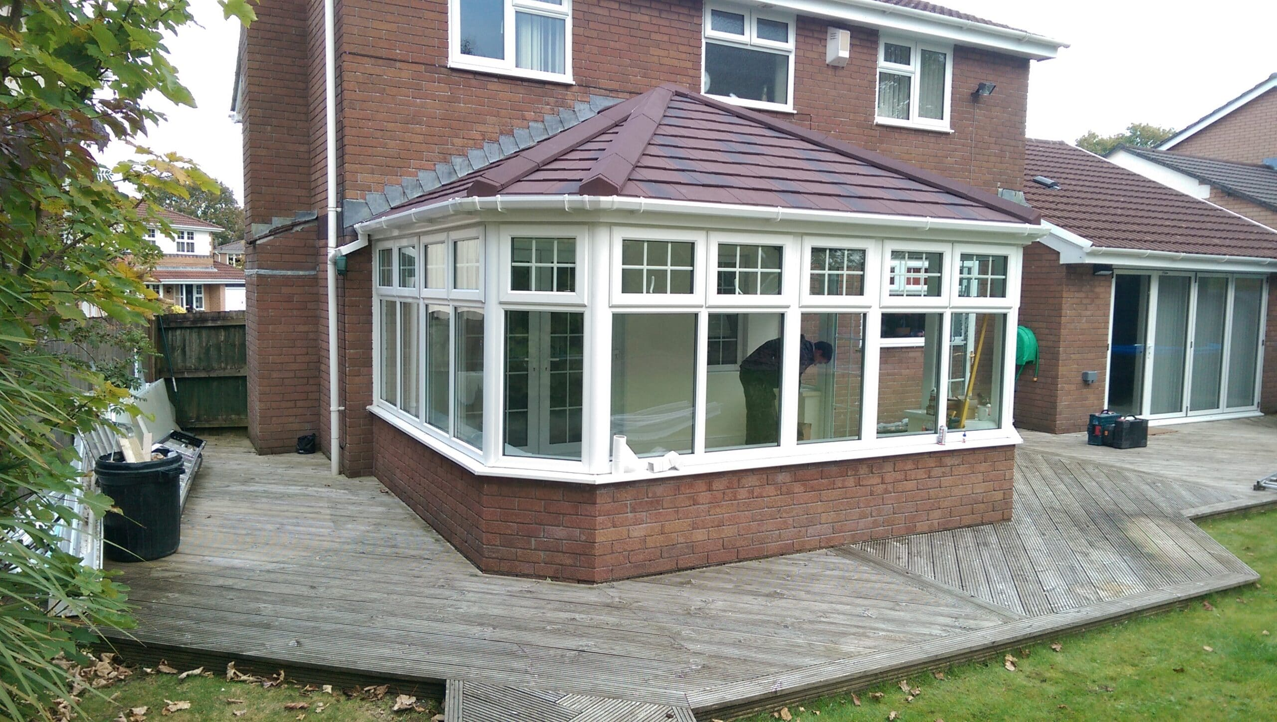 Conservatory re-roofing