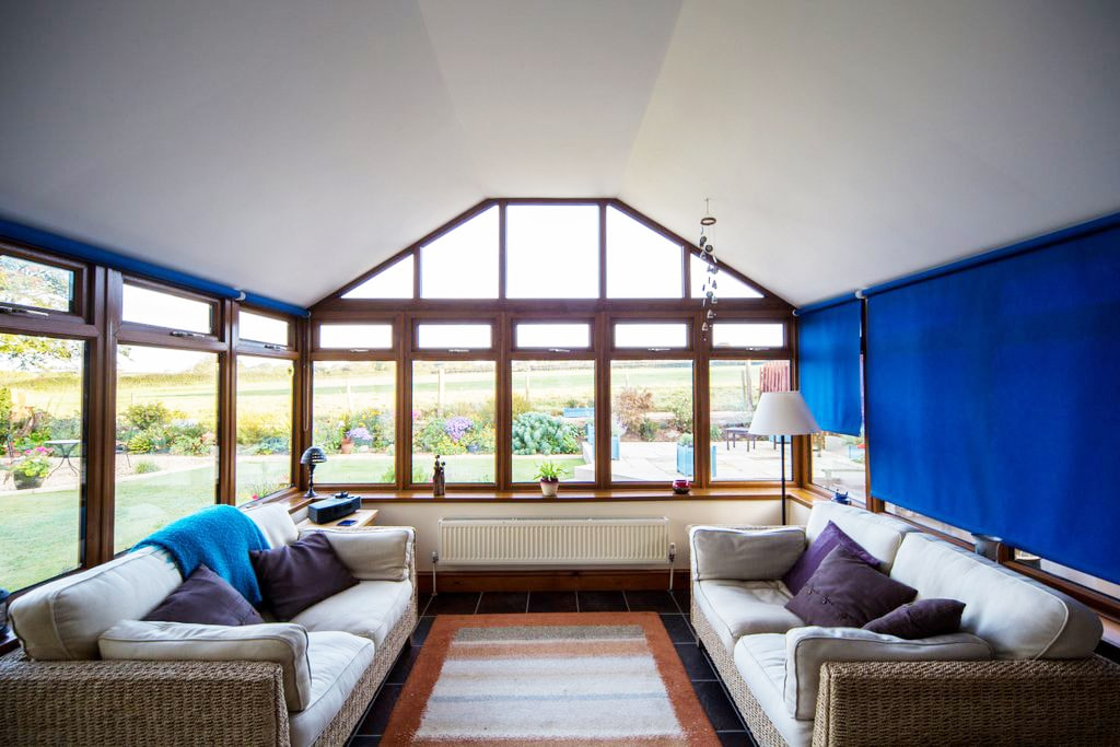 Using your conservatory all year round with the Leka roof system