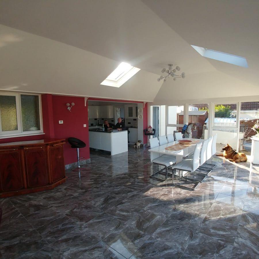 inside a leka conservatory