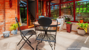 converting a conservatory roof image